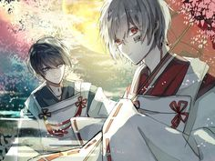 After The Rain / Soraru x MafuMafu Vocaloid, Hot Anime Boy, Anime Guys, Otaku, Kawaii, Bleach Anime, Manga Illustration, Boy Art, Cute Wallpapers