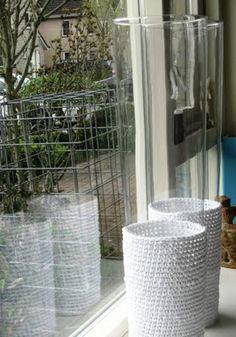crochet vase covers