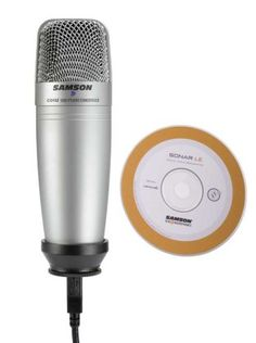 Samson C01U USB Microphone: With SONAR LE Plug the ultra-affordable Samson C01U USB microphone into your computer's USB port, and get recording fast with the included Sonar LE DAW software.