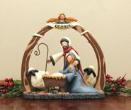 Gloria in Excelsis Deo Christmas Clay, Christmas Makes, Christmas Nativity, Christmas Crafts, Merry Christmas, Christmas Decorations, Xmas, Christmas Ornaments, Holiday Decor