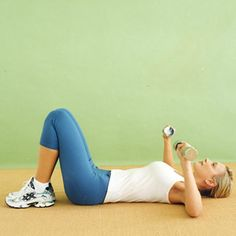 Chest Press - How to Do it #easyworkout #loseweight