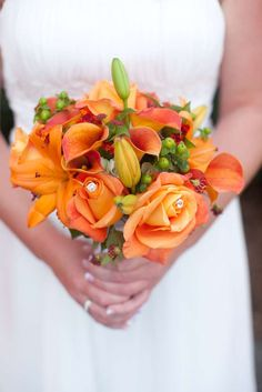 Orange and Lime green Wedding Party Ideas | Photo 1 of 17 | Catch My Party
