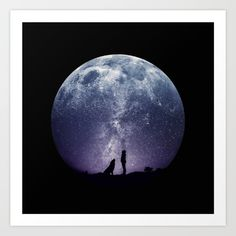 https://society6.com/product/stargaze-380_print?curator=listenleemarie Collect your choice of gallery quality Giclée, or fine art prints custom trimmed by hand in a variety of sizes with a white border for framing.