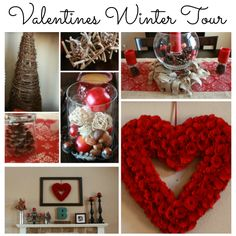Valentines and Winter Home Tour by Denise Designed