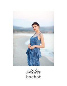 Silk dress Cocktail dress Ruffled dress from @atelierbachot