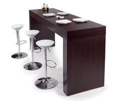 Risultati immagini per tavolo alto cucina ikea Happy Hour, Table Bar, Table Haute, Bench Furniture, Kitchen Remodel, Kitchen Design, Inspiration, Home Decor, Photos