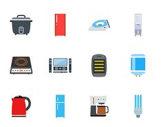 "Check out new work on my @Behance portfolio: ""home appliances color icons"" http://be.net/gallery/36666361/home-appliances-color-icons"