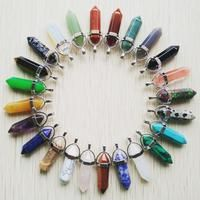"""HOT PRICES FROM ALI - Buy """"Wholesale 2017 high quality assorted natural stone mixed pillar charms chakra Pendants & necklaces for making free"""" from category """"Jewelry & Accessories"""" for only USD. Chakra, Jewelry Accessories, Women Jewelry, Aliexpress, Crystal Pendant, Shape Patterns, Natural Stones, Cool Things To Buy, Charms"""