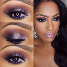 .@makeupshayla   Winter Beat️ @Inglot_usa 35 loose shadow on the lid with inglot 83 gel liner ...   product list no tutorial