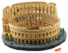 Recreate the icon of Rome with this colossal build