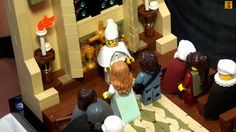 Celebrate romance with detailed Lego versions of famous Princess Bride scenes