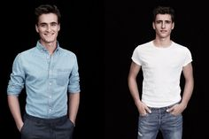 www.pegasebuzz.com | Nicola et Olivier Philippaerts pour H&M.