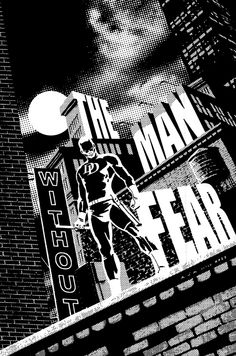 Daredevil: Black & White by David Aja (after David Mazzucchelli)