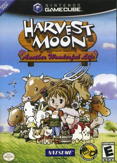 Harvest Moon: Another Wonderful Life   This was my first Harvest Moon game, so…