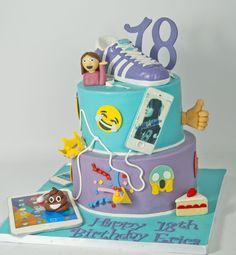 Emoji Cake  on Cake Central
