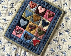 Scrappy Hearts pattern by OhKathleen on Etsy