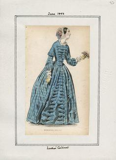Ladies' Cabinet June 1843 LAPL
