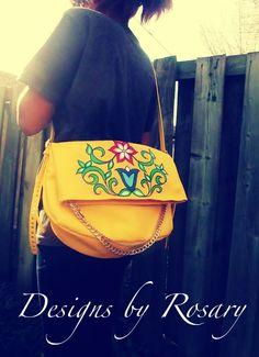 purse, Rosary Spence (Cree)