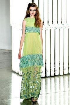 Rodarte Spring 2012 Ready-to-Wear Fashion Show - Antonia Wesseloh