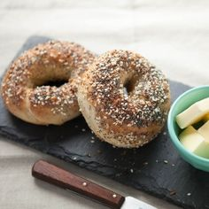 Homemade Everything Bagels