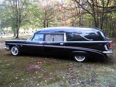 VERY rare 1959 Memphis Chrysler hearse