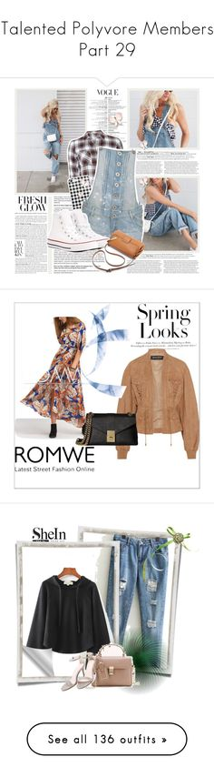 """""""❤Talented Polyvore Members❤ Part 29"""" by l33l ❤ liked on Polyvore featuring Dorothy Perkins, Parisian, Converse, H&M, LE3NO, Andrew Geller, Nicole Miller, Stuart Weitzman, Chloé and vintage"""