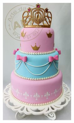 Bolo Princesa - Princess cake