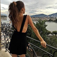 Dress (and view) goals.