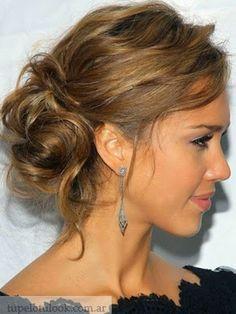 Jesica Alba :) peinado perfecto