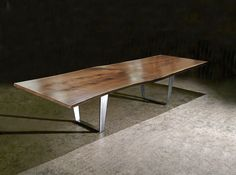 DE - SIGN OF THE TIMES: INCREDIBLE LIVE EDGE TABLES - MY NEW LOVE