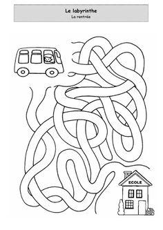 La rentrée - Le labyrinthe