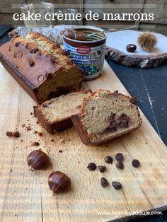 Un cake moelleux à la crème de marrons, avec le croquant des pépites de chocolat. Et si vous aimez beaucoup la crème de marrons, n'hésitez pas à en rajouter. Cake à la crème de marrons et aux pépites de chocolat est un article de LE JARDIN ACIDULÉ.pour faire le plein de recettes, idées voyages, DIY