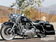 Four wheels move the body. Two wheels move the soul. Dream bagger