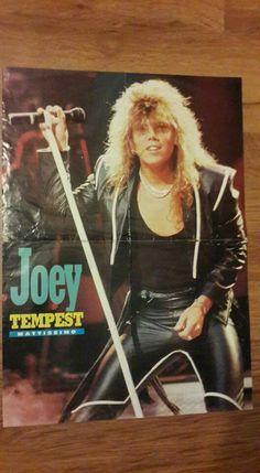 Joey Tempest, Europe, Punk, Singer, Sexy, Magazine, Club, Sweden, Magazines
