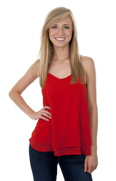 Lizard Thicket - Beaded Racer Tank in Red, $29.99 (http://www.shoplizardthicket.com/beaded-racer-tank-in-red/)