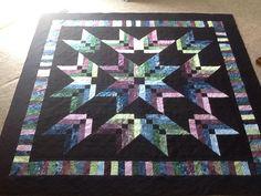 Binding Tool Star Quilt, made by Keech
