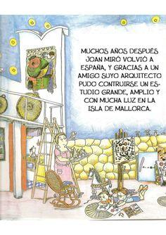 La pequeña historia de joan miro Joan Miro, Baseball Cards, Comics, Illustration, Painting, Children's Books, Historia, Preschool Education, Museums