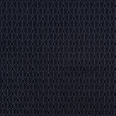 Black Geometric Cut Velvet - Cotton - Home Fabrics