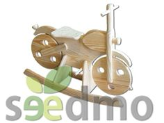 moto balancin de #madera para los peques #moteros compra Online.