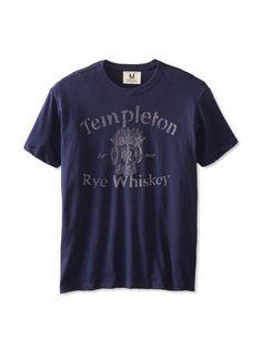 Tailgate Clothing Company Men's Templeton Rye T-Shirt (Mast Blue)