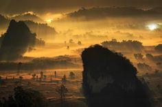 Golden Valley by SuppalakKlabdee