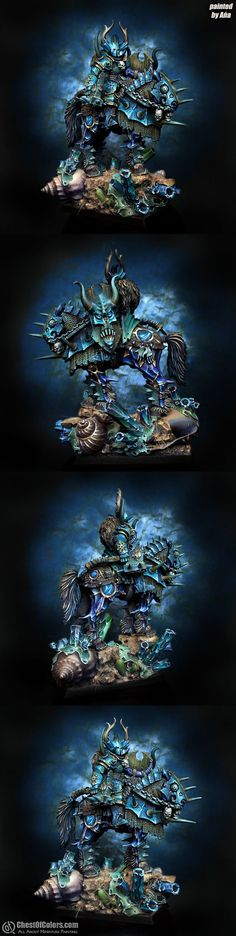 Mounted Chaos Lord of Tzeentch