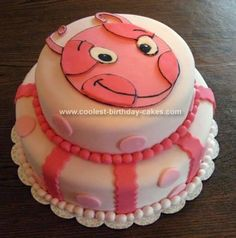 Cute Backyardigans Uniqua Cake!!