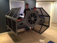 Star Wars Tie Fighter Bed - my children will have this