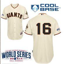 8b20ade668e San Francisco Giants 16 Angel Pagan Home Jersey 2014 World Series Patch