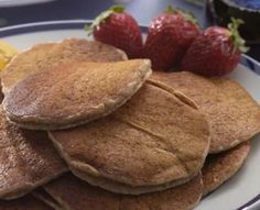 Healthy Pancakes   From Eating Well - 2 pancakes for 1 carb exchange