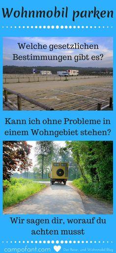 Die Frage, wo man sein Wohnmobil parken darf, sorgt immer wieder für Verwirrung. Wenn man nicht gerade auf Reisen ist, muss der Camper ja irgendwo abgestellt werden. Doch wo darf man sein Wohnmobil hinstellen und wie lange? Auch das Abstellen in Wohngebieten wirft oft Fragen auf. Wir zeigen dir, wo du dein Reisemobil abstellen darfst und ob du, wenn du gerade durch Deutschland reist, darin auch übernachten kannst. #wohnmobil #ratgeber #parken #infos #wildcampen