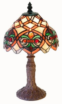 Warehouse of Tiffany 13 in. Small Arielle Multicolored Accent Brown Table - The Home DepotWarehouse of Tiffany 13 in. Small Arielle Multicolored Accent Brown Table LampTiffany Lamp - Worlds Most Expensive LampTiffany Lamp - Brown Table Lamps, Tiffany Style Table Lamps, Lamps For Sale, Candelabra Bulbs, Lamp Bases, Glass Table, Cut Glass, Glass Shades, Lamp Light