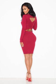 c37f1dcb34f Mila Ribbed Sweater Dress Trending Fashion