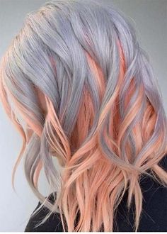 24 Amazing Combination of Hair Colors for Long Hair 2018